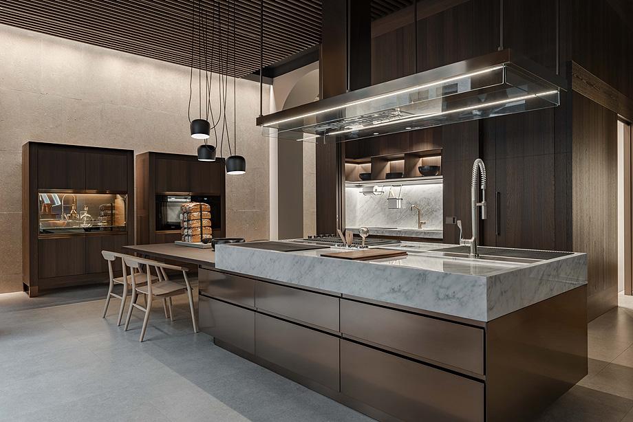 Nuevo showroom de Arclinea en la milanesa Via Durini