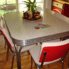 Vintage Table And Chairs Chair Turns Into Bed 1950s Retro Kitchen Bringing Back Classic