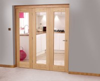 French doors interior bifold