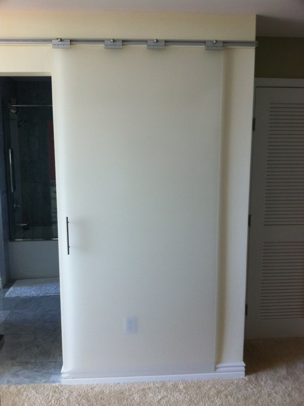 IKEA Hack Sliding Doors