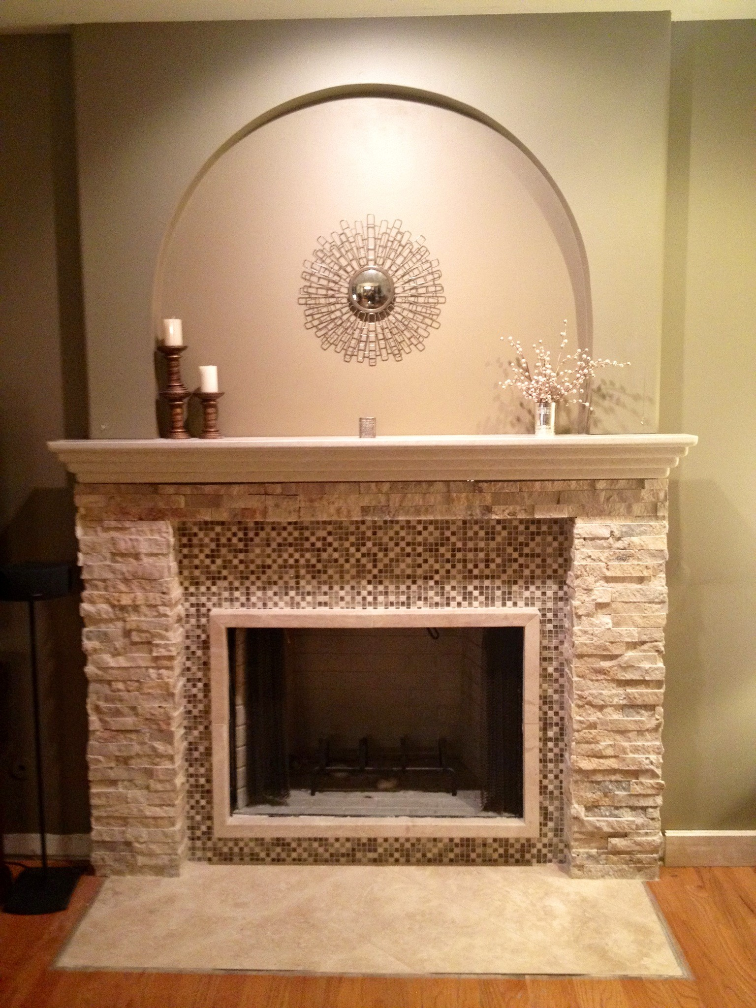 Marble fireplace surround ideas