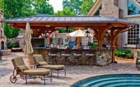 Outdoor pool and bar designs - bring out the beauty with ...