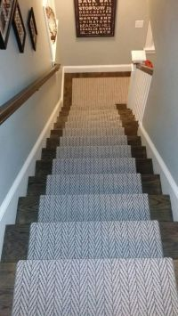 Carpet runner for stairs over carpet - 20 reasons to buy ...