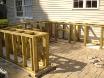 DIY Outdoor Bar and Grill