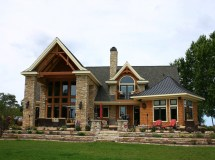 Rustic Exterior Home Paint Colors