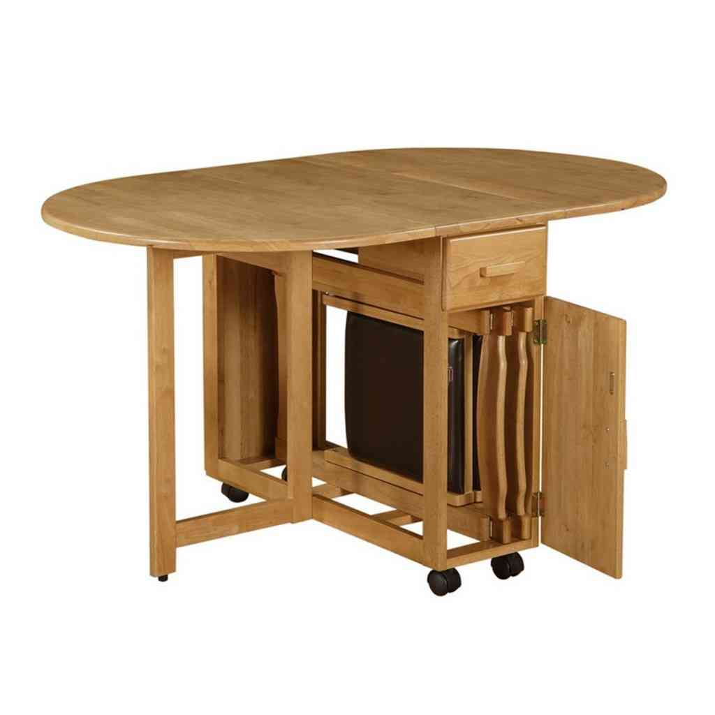 kitchen table with 4 chairs best shoes for working in a folding and 20 design ideas