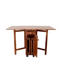 Folding kitchen table and 4 chairs