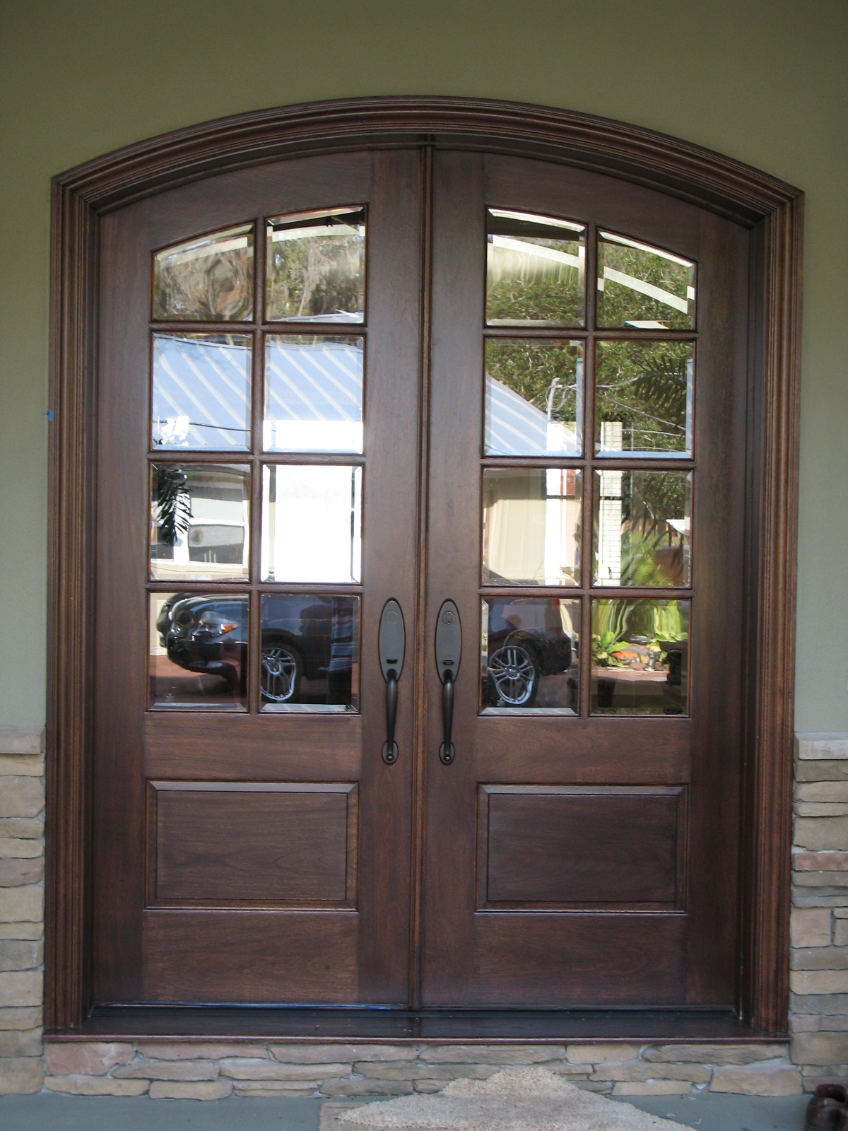French Exterior Doors Steel  20 Inspiring Photos