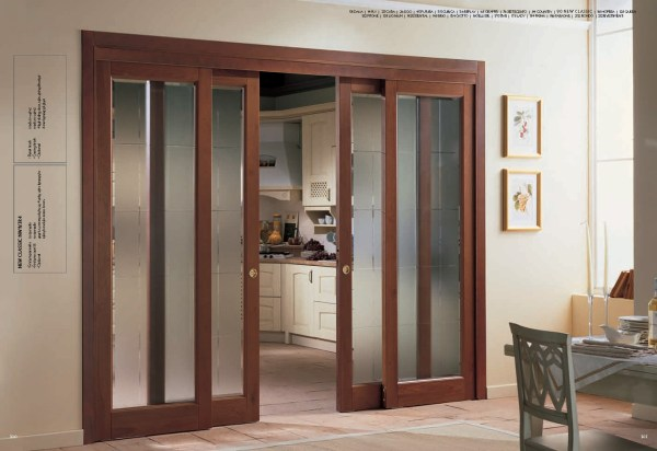 Interior Sliding French Doors with Glass