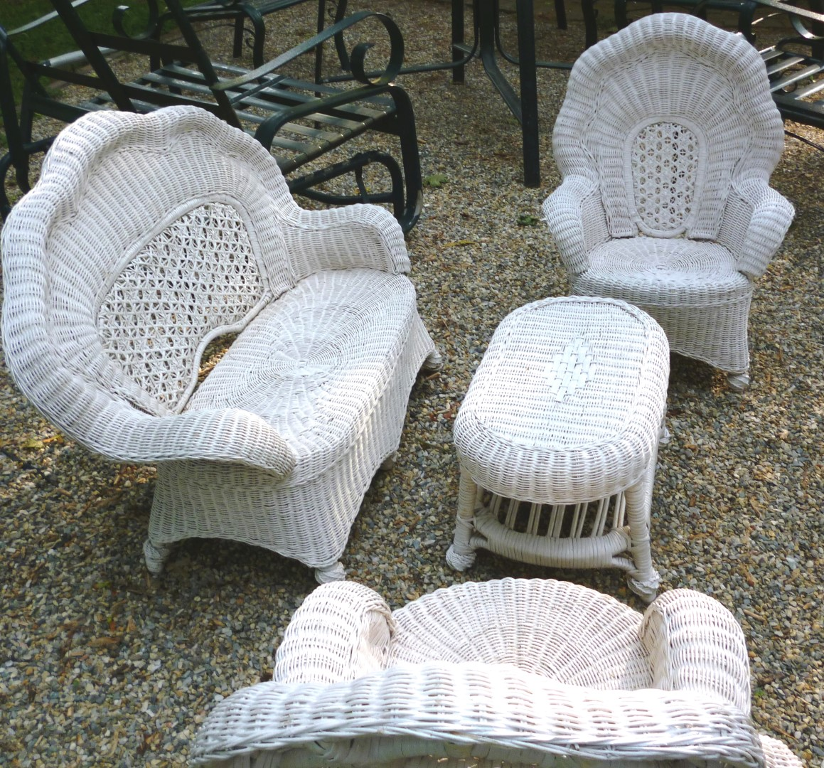 Child Patio Chair Outdoor Wicker Furniture For Children Perfect Addition