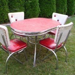 Red Retro Kitchen Chairs Chair Cover Rental Kansas City Table When Become A