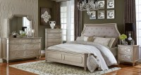 Silver bedroom furniture sets - reflect a clean and ...