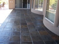 Slate tiles for outside walls - ideal for patios ...