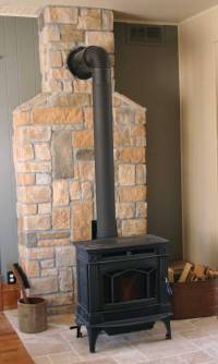 Best wood stove wall design ideas for you