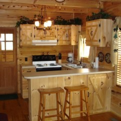 Country Cottage Kitchen Designs Hutch Cabinets Make A Lively And