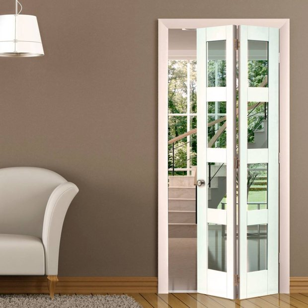 Interior Folding Doors Home Design Ideas