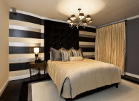 Black and gold bedroom design - Giving a Luxury Themed ...