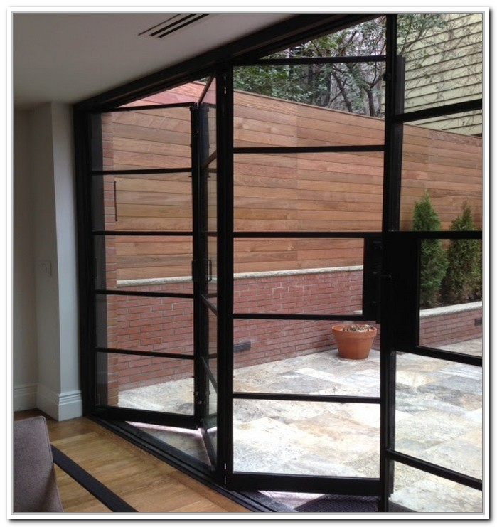Metal French Doors Pictures to Pin on Pinterest