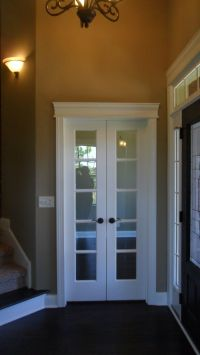 French doors for interior office