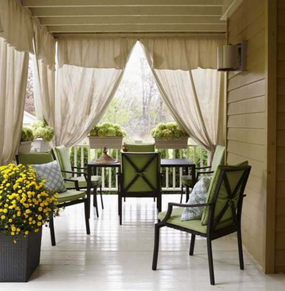 outdoor curtains for patio photo