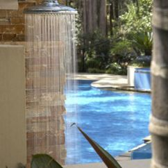 Big Lots Kitchen Chairs Durable Flooring Things To Consider Before Installing Outdoor Shower For ...