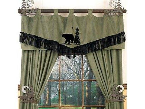 Rustic Country Kitchen Curtains Interior & Exterior Doors
