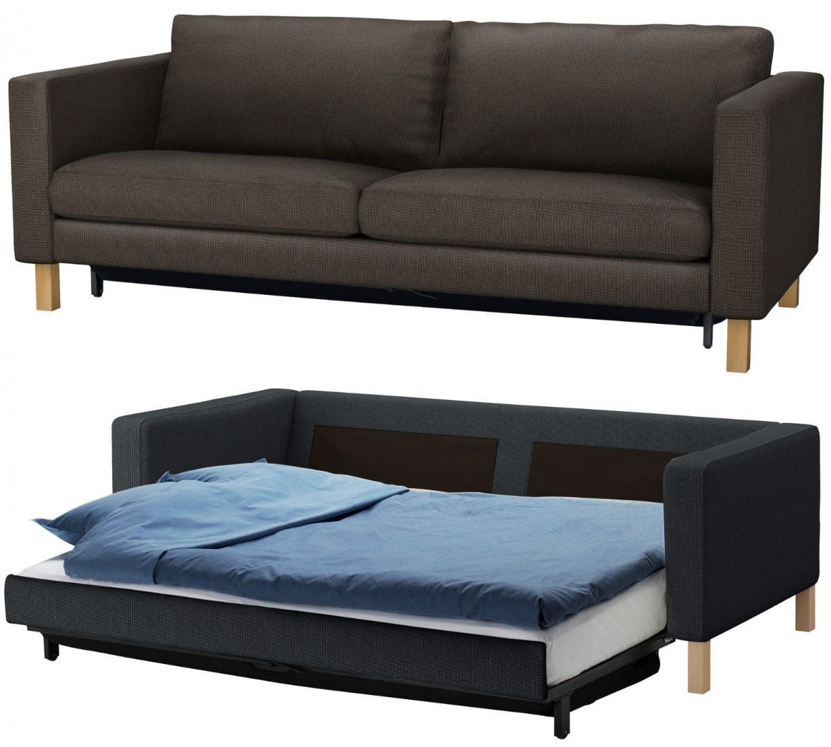 ikea sofa sleeper sectional acieona reclining with drop down table enhancing a stylish home