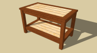 Wooden Coffee Table Plans. Good Learn How To Build This ...