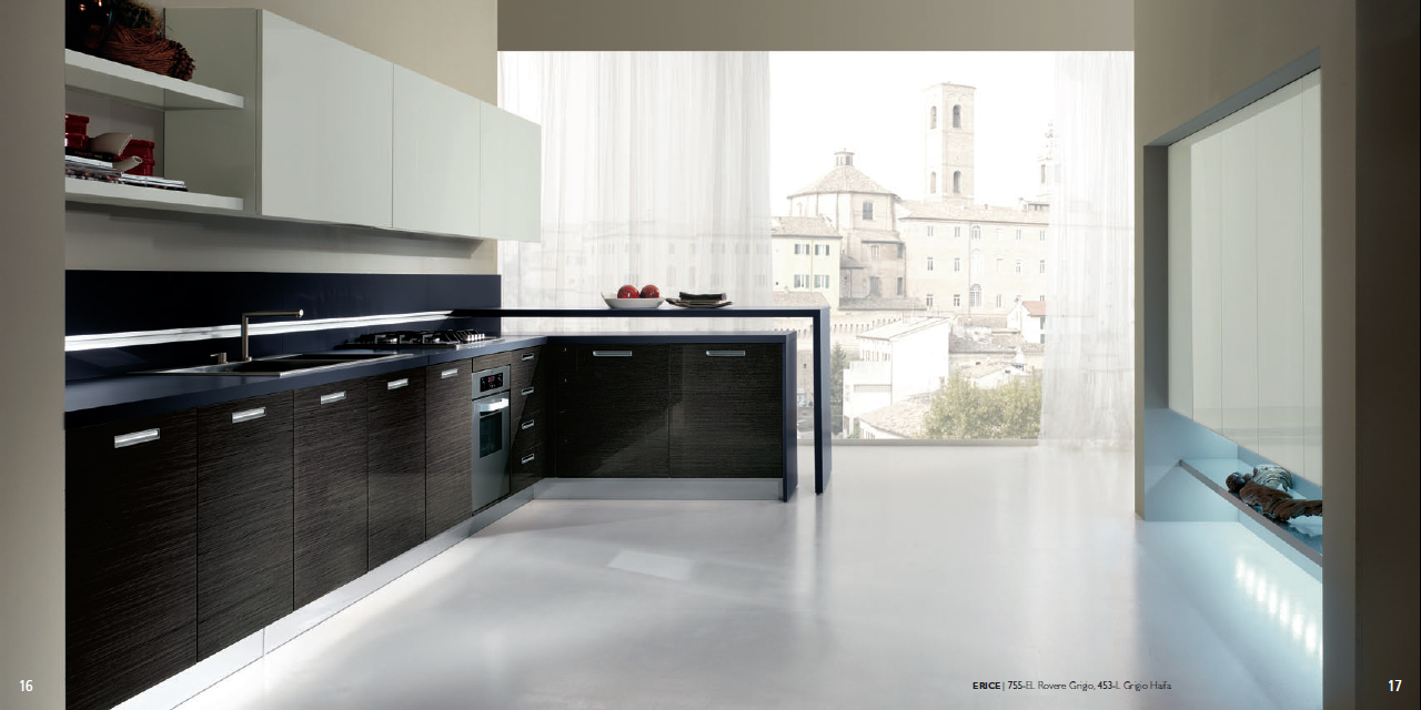 Veneered Kitchen Concept For A