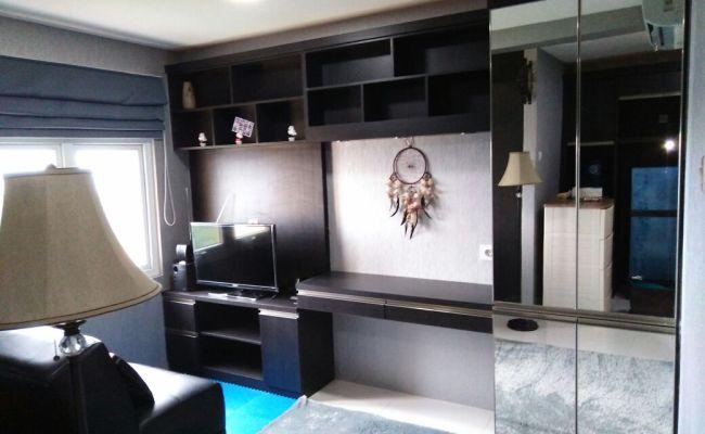 Paket Interior Apartemen 1 Bed Room Dengan Tampilan
