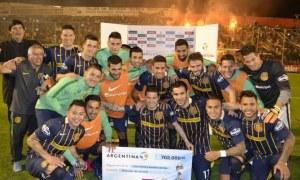 Rosario Central 2-2 Rafaela (Prensa Copa Argentina)