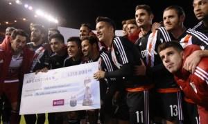 River 3-0 Unión (Prensa Copa Argentina)