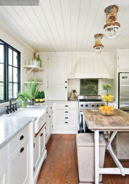 beach cottage style kitchens 20 Amazing Beach Inspired Kitchen Designs | Interior God
