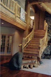 20 Elegant Rustic Staircase Designs To Inspire You ...