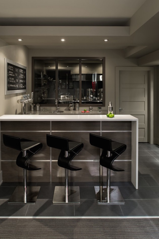 17 Stunning Contemporary Home Bar Designs  Interior God