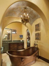 23 Elegant Mediterranean Bathroom Design Ideas | Interior God