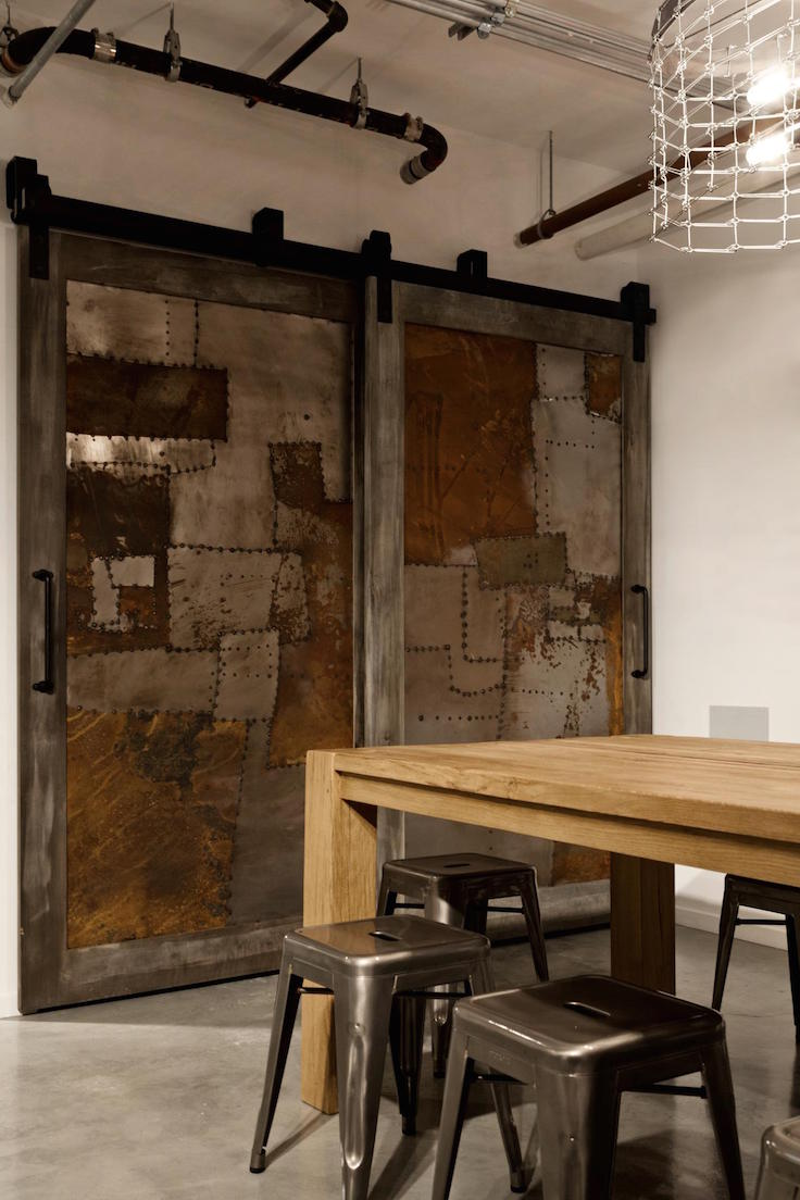 Industrial Entryway Design That Will Attract You Inside