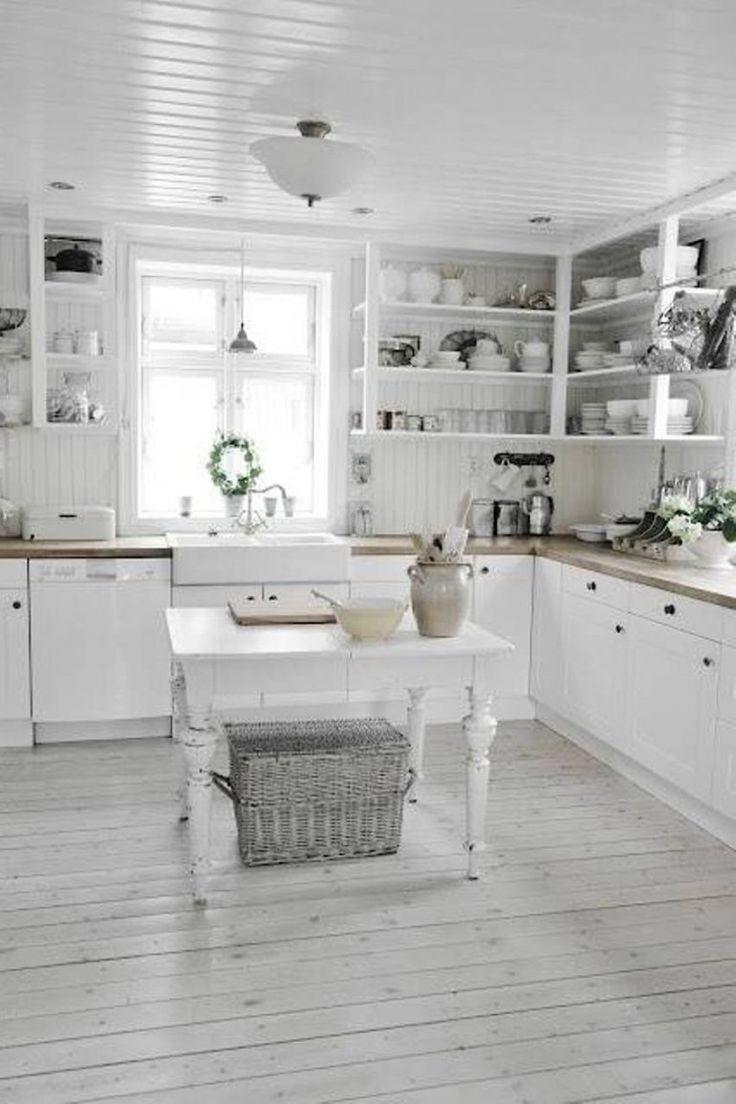 small rustic kitchen island america's test knives 25 cute shabby chic design ideas | interior god