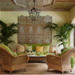 Tropical Living Room Design Ideas Lime Green Pictures 20 Refreshing Interior God Furniture Enchanting