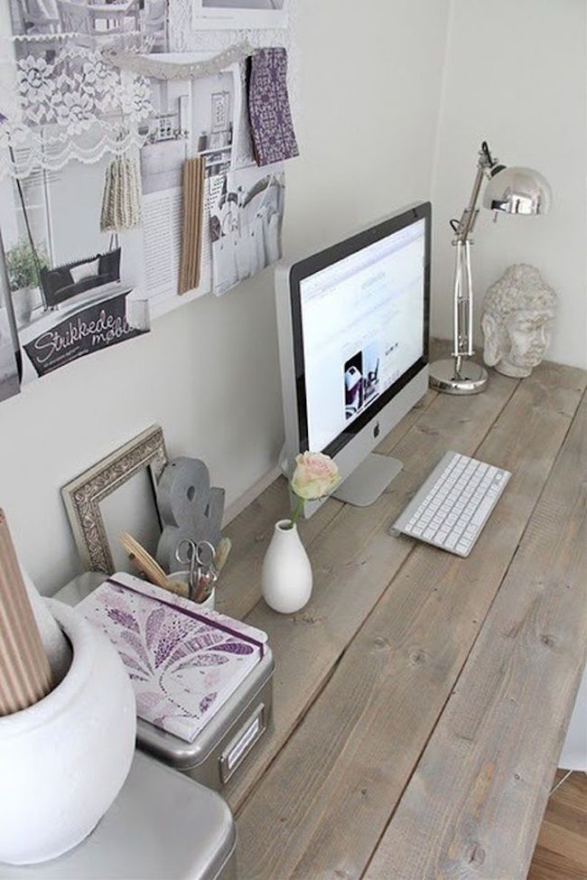 It's also one of the popular choices which is desired by most kids. Beautiful Shabby Chic Home Office Design Ideas | Interior God