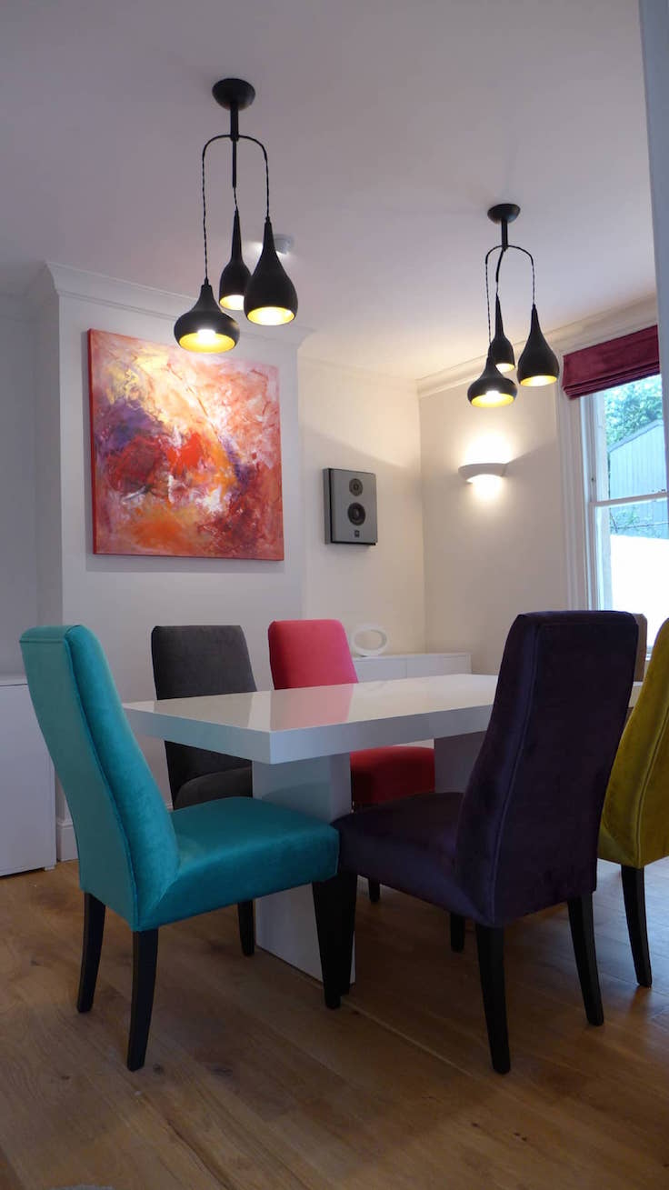 37 Bright And Colorful Dining Room Design Ideas  Interior God