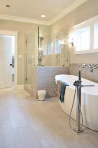 43 Amazing Bathrooms With Half Walls | Interior God