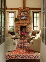 57 Stylish Living Rooms With Brick Walls   Interior God