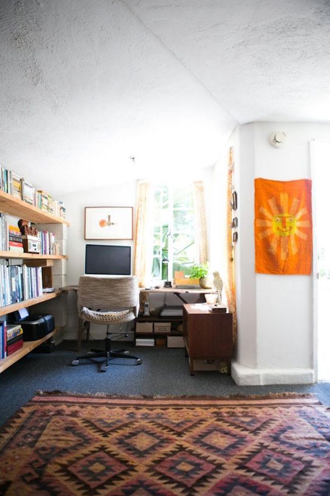 32 Inspiring Boho Chic Home Office Design Ideas  Interior God