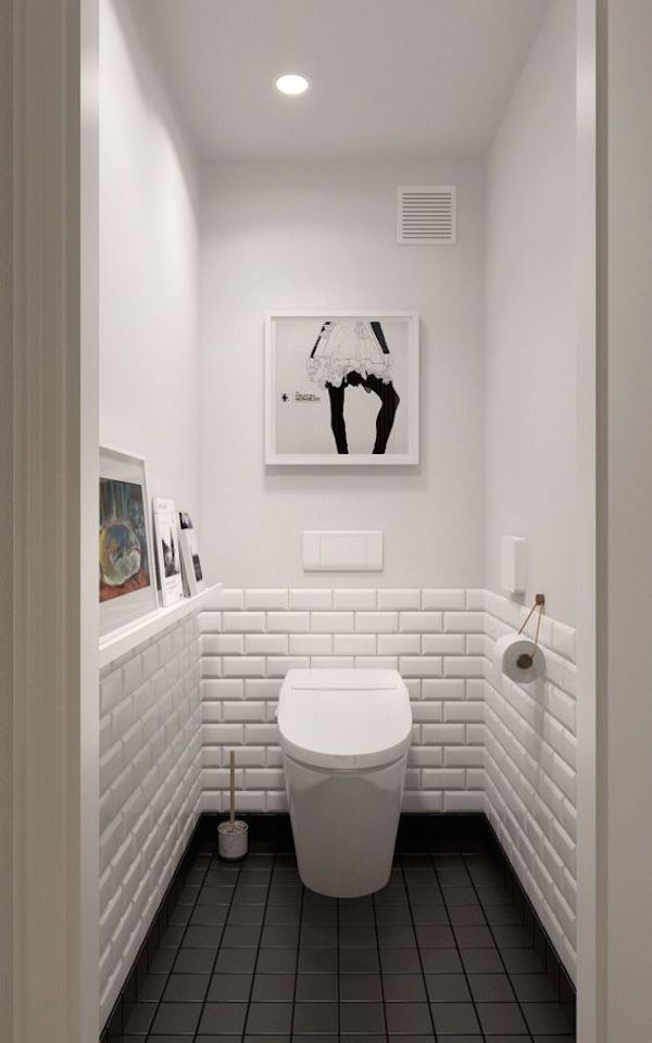 Country living editors select each product featured. 34 Classic Black And White Bathroom Design Ideas