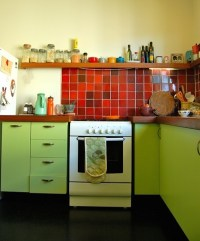 28 Colorful Kitchen Backsplash Ideas