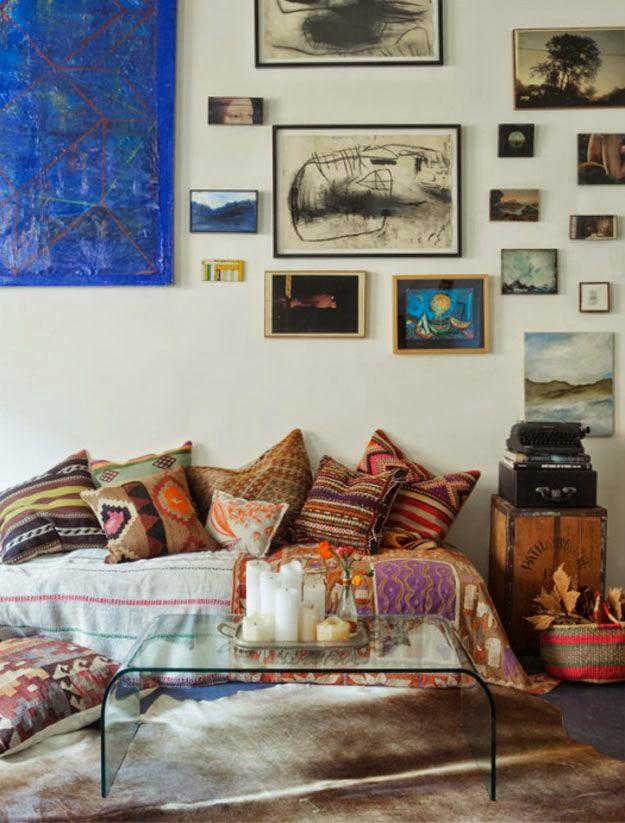 bohemian living room wall ideas cafe curtains for 41 impressive designs interior god
