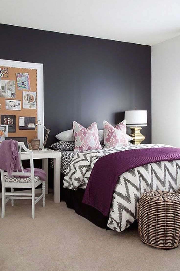 31 Stylish Purple Accent Bedroom Ideas Interior God