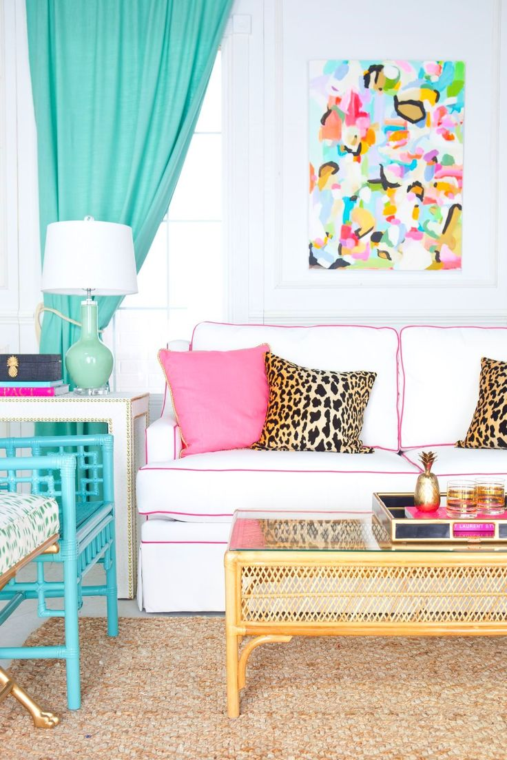 39 Bright And Colorful Living Room Designs Interior God