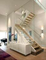 10 Cool Glass Staircase Designs   Interior God